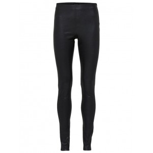 Selected Femme stretch leather trousers