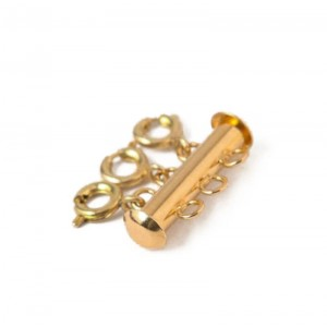 LAYERED NECKLACE SEPARATOR - 3 CHAIN