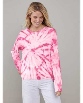 South Parade Susan - Sweater - Tie Dye - Pink